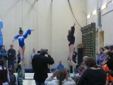 Новый год на нашей тренировке по спортивной гимнастике